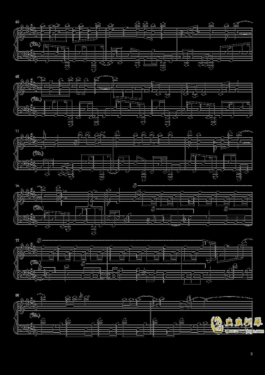 Amazing Trees钢琴谱 第5页