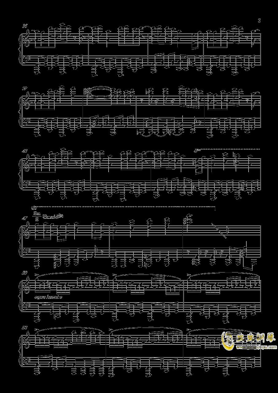 �L来钢琴谱 第3页