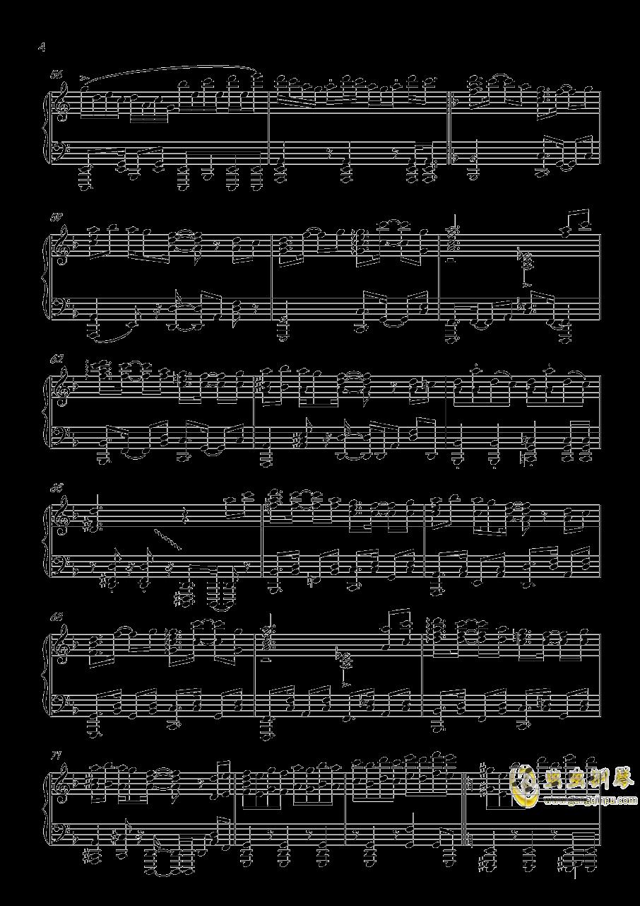 �L来钢琴谱 第4页