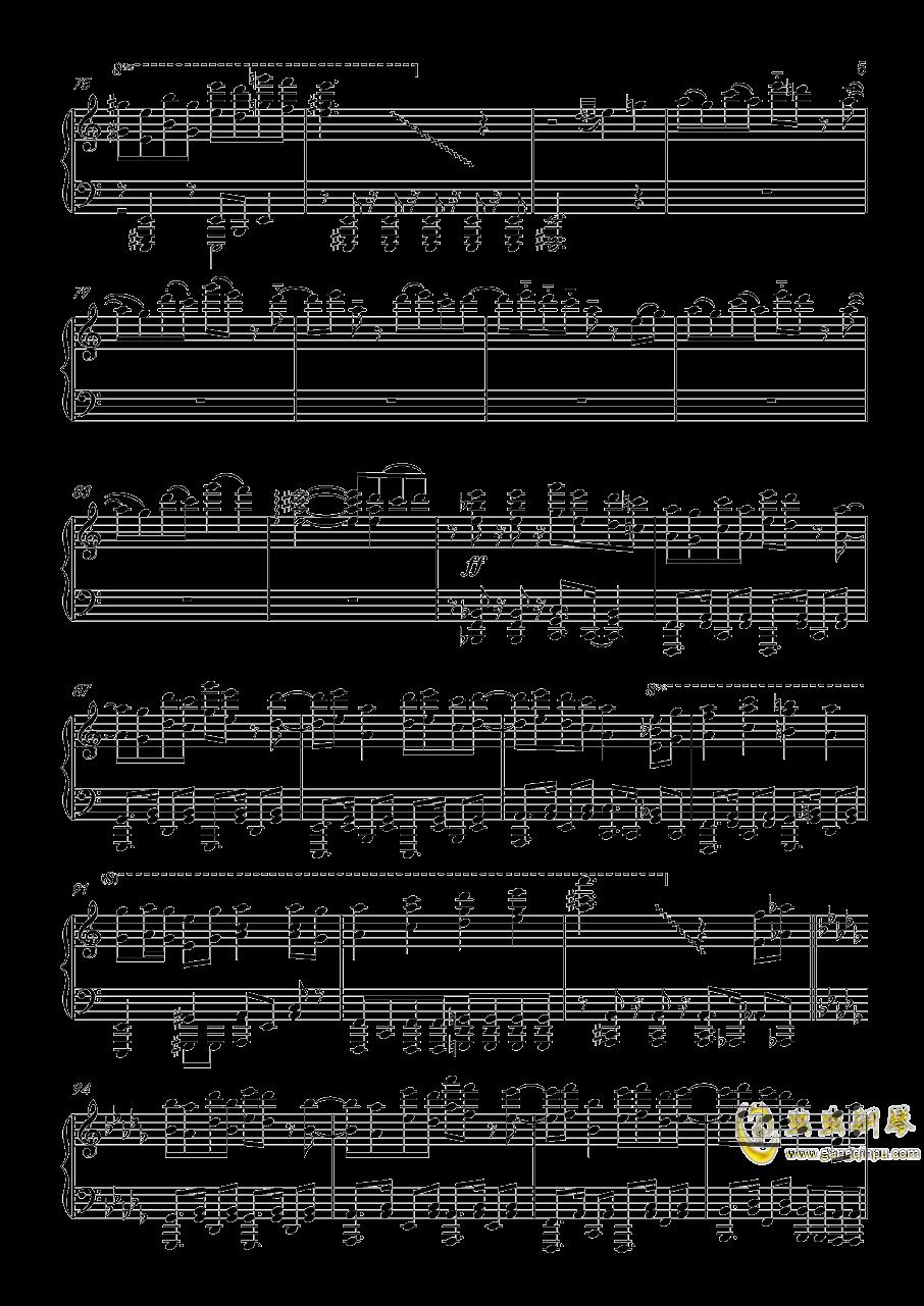 �L来钢琴谱 第5页