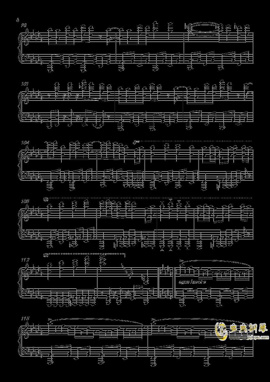�L来钢琴谱 第6页