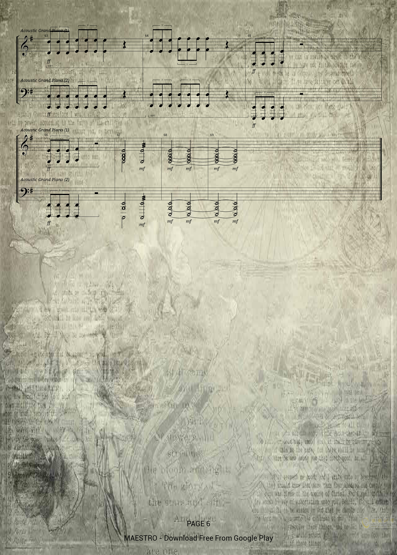 Avengers - Main Theme钢琴谱 第6页