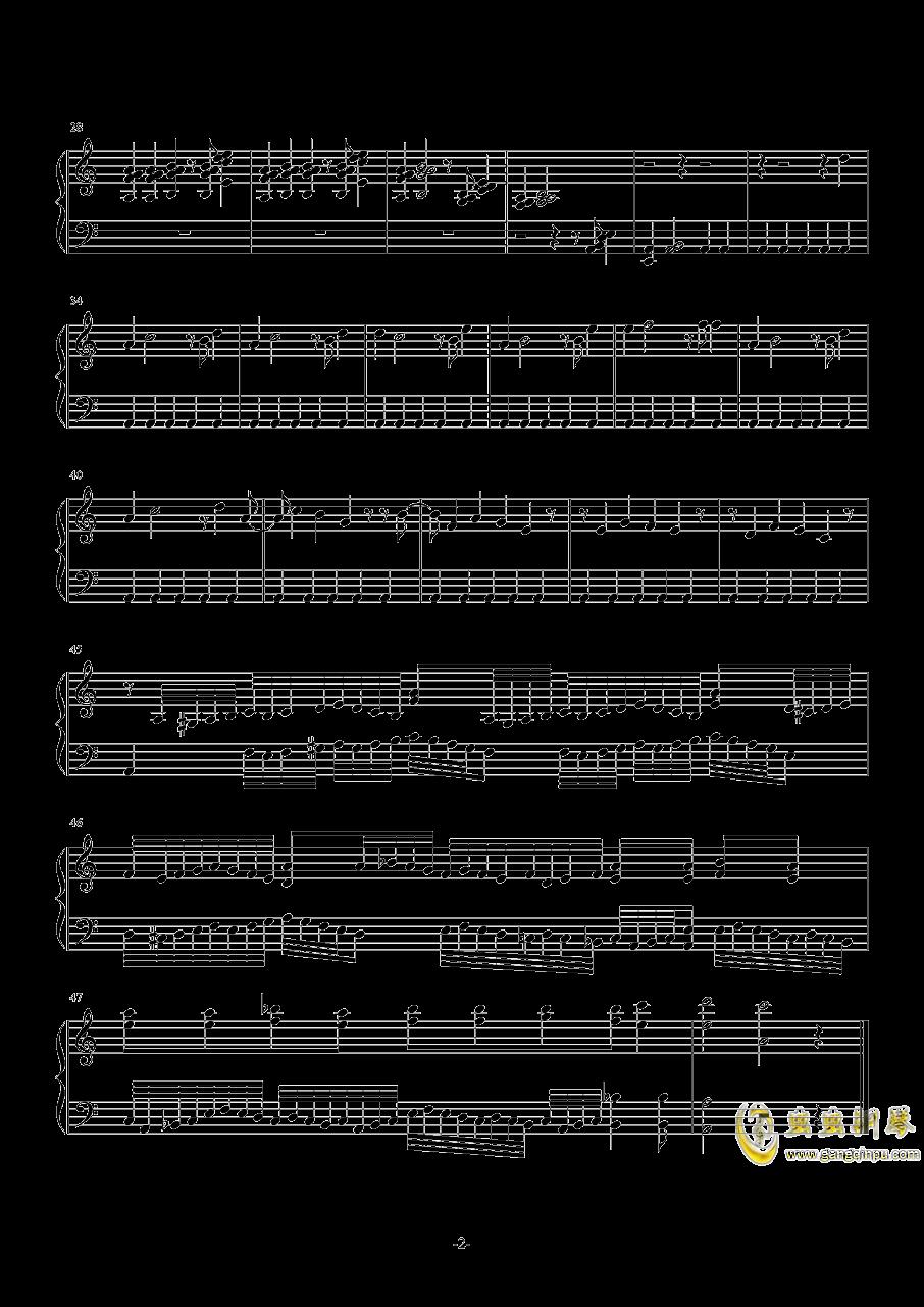 音乐日记钢琴谱 第2页