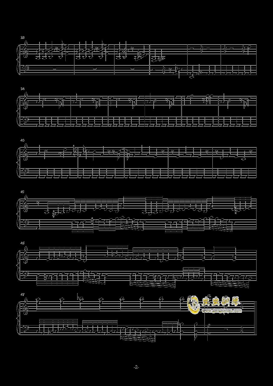 我喜欢钢琴谱 第2页