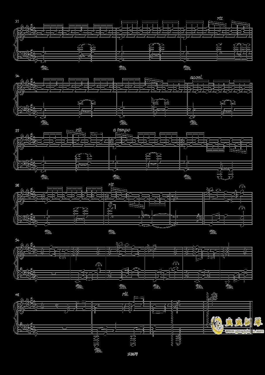 目に��き付いた物�Z钢琴谱 第2页