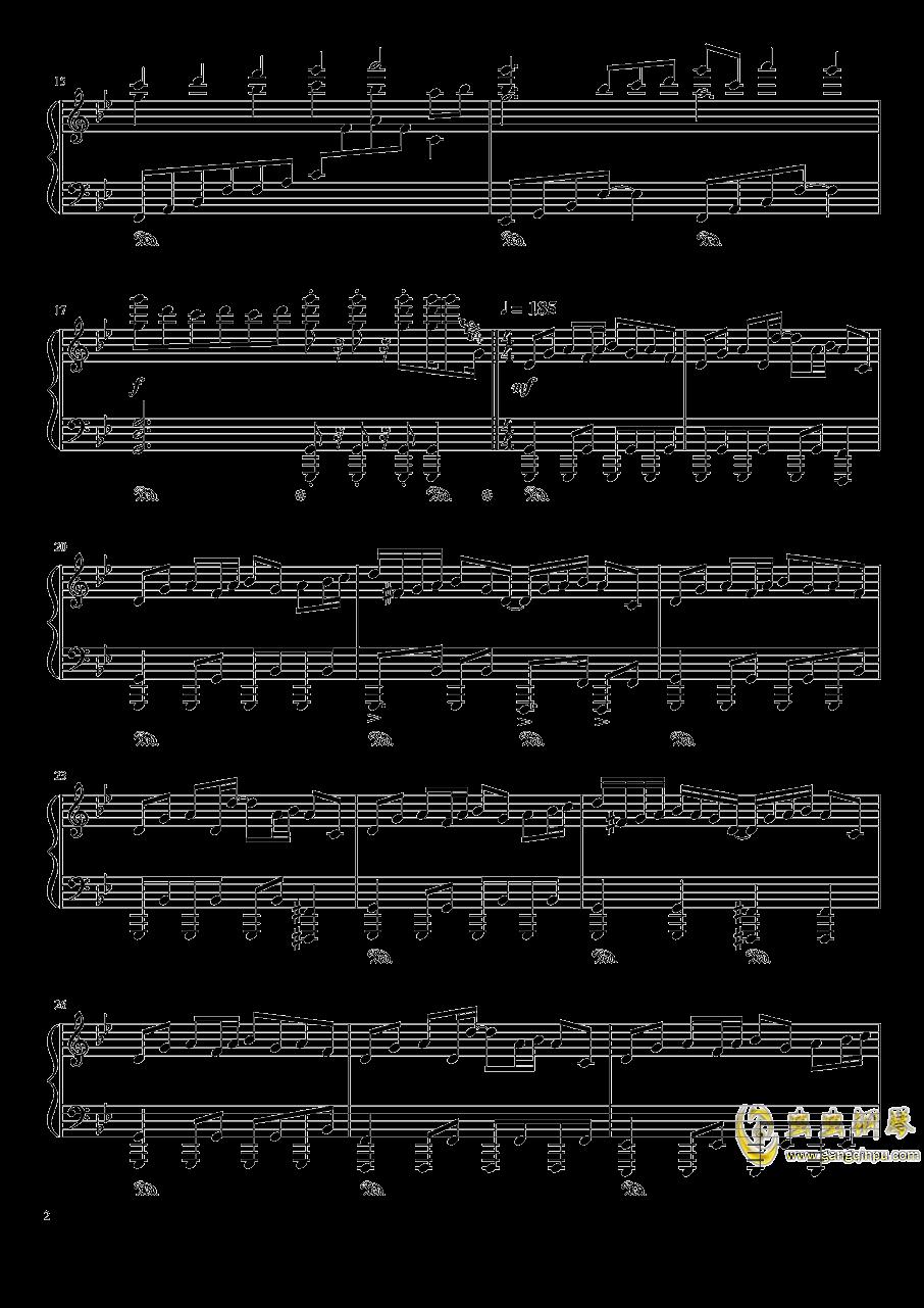 现世的秘术师钢琴谱 第2页