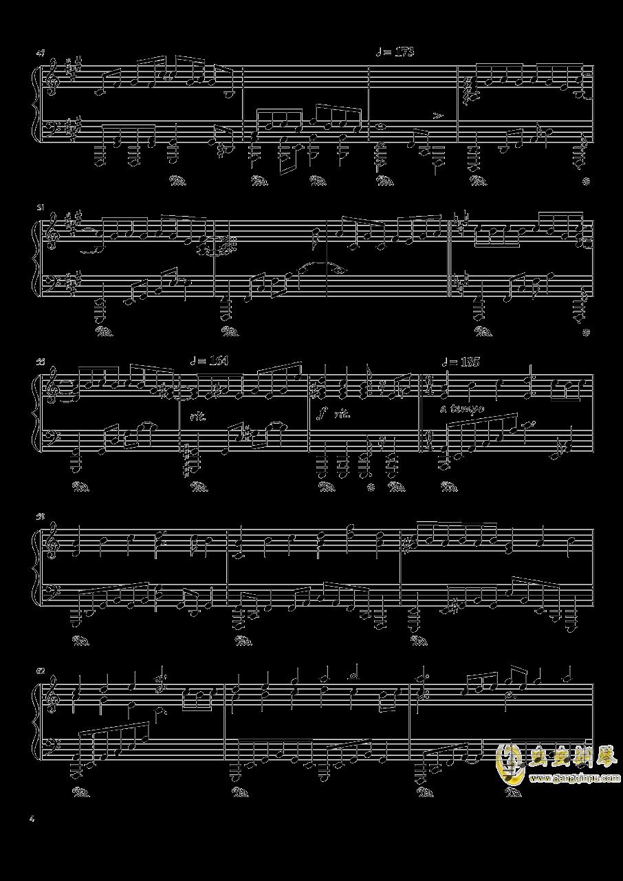 现世的秘术师钢琴谱 第4页