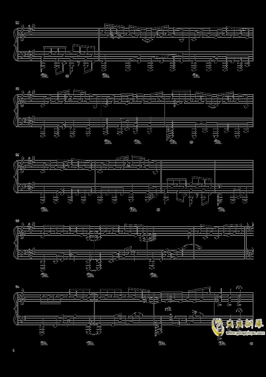 现世的秘术师钢琴谱 第6页