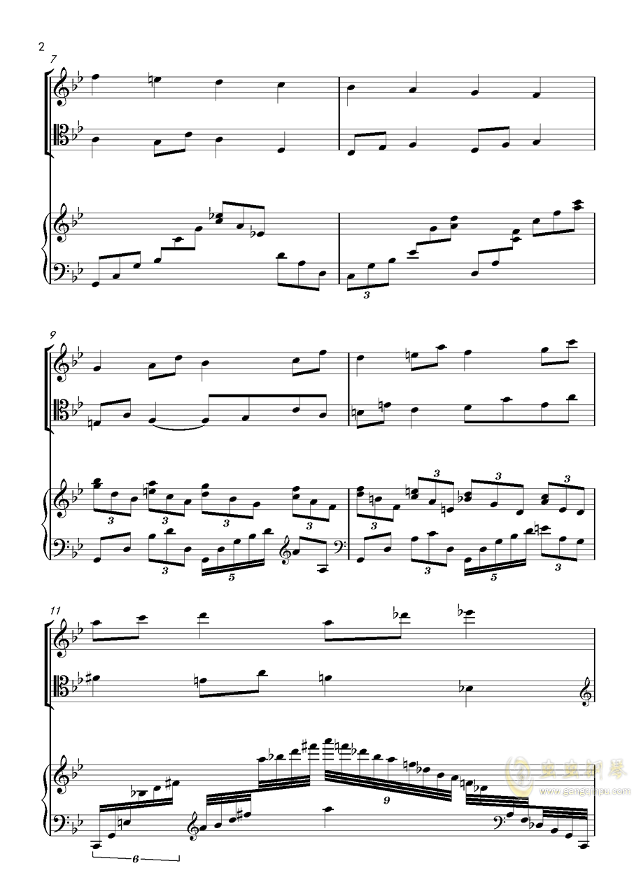 piano trio-lbg钢琴谱 第2页