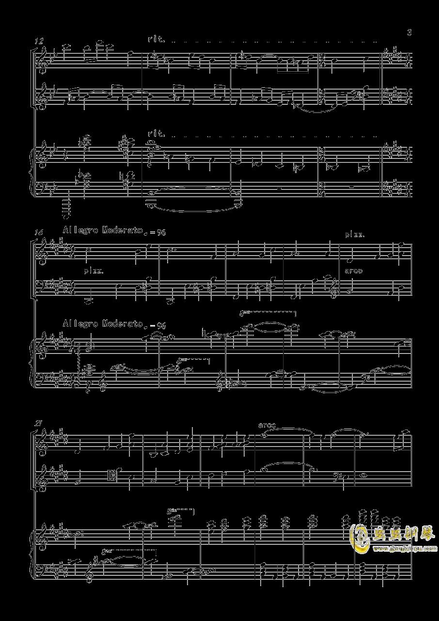 piano trio-lbg�琴�V 第3�