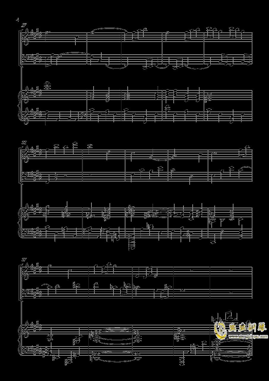 piano trio-lbg钢琴谱 第4页
