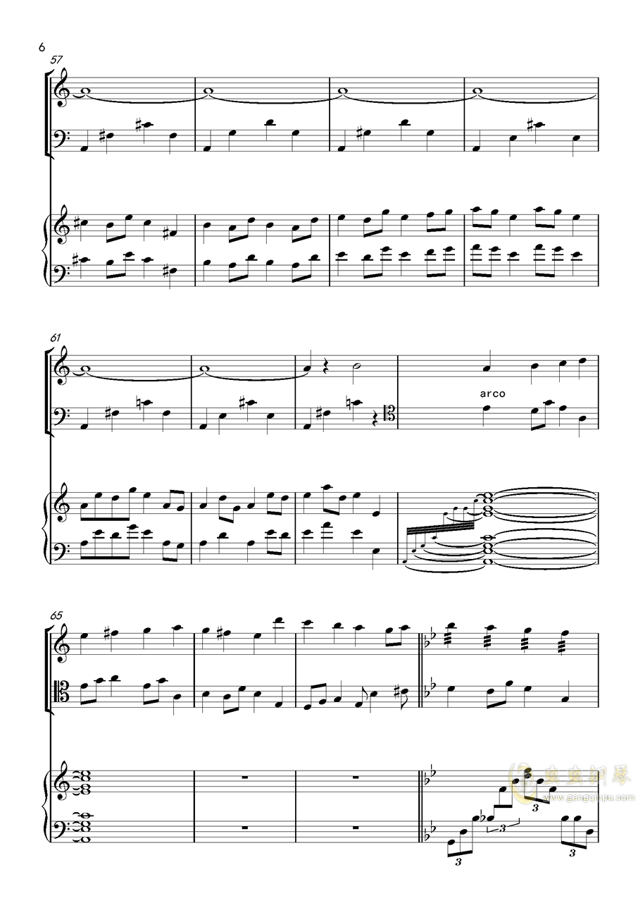 piano trio-lbg�琴�V 第6�