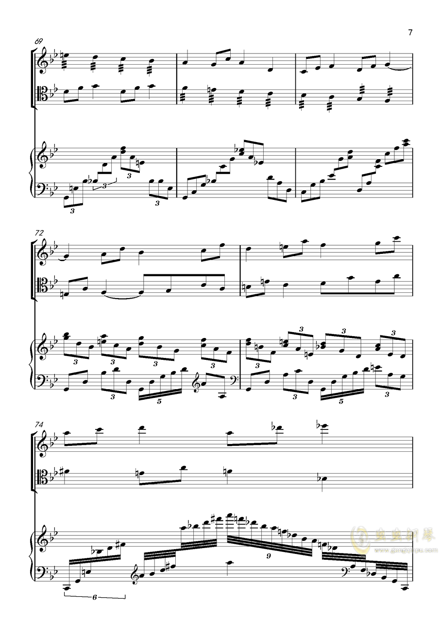 piano trio-lbg�琴�V 第7�