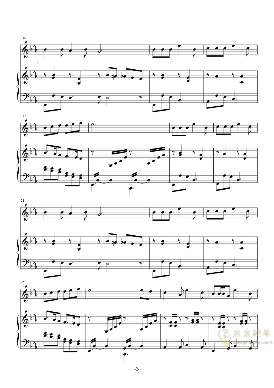 琴巢之歌ag88环亚娱乐谱 第2页