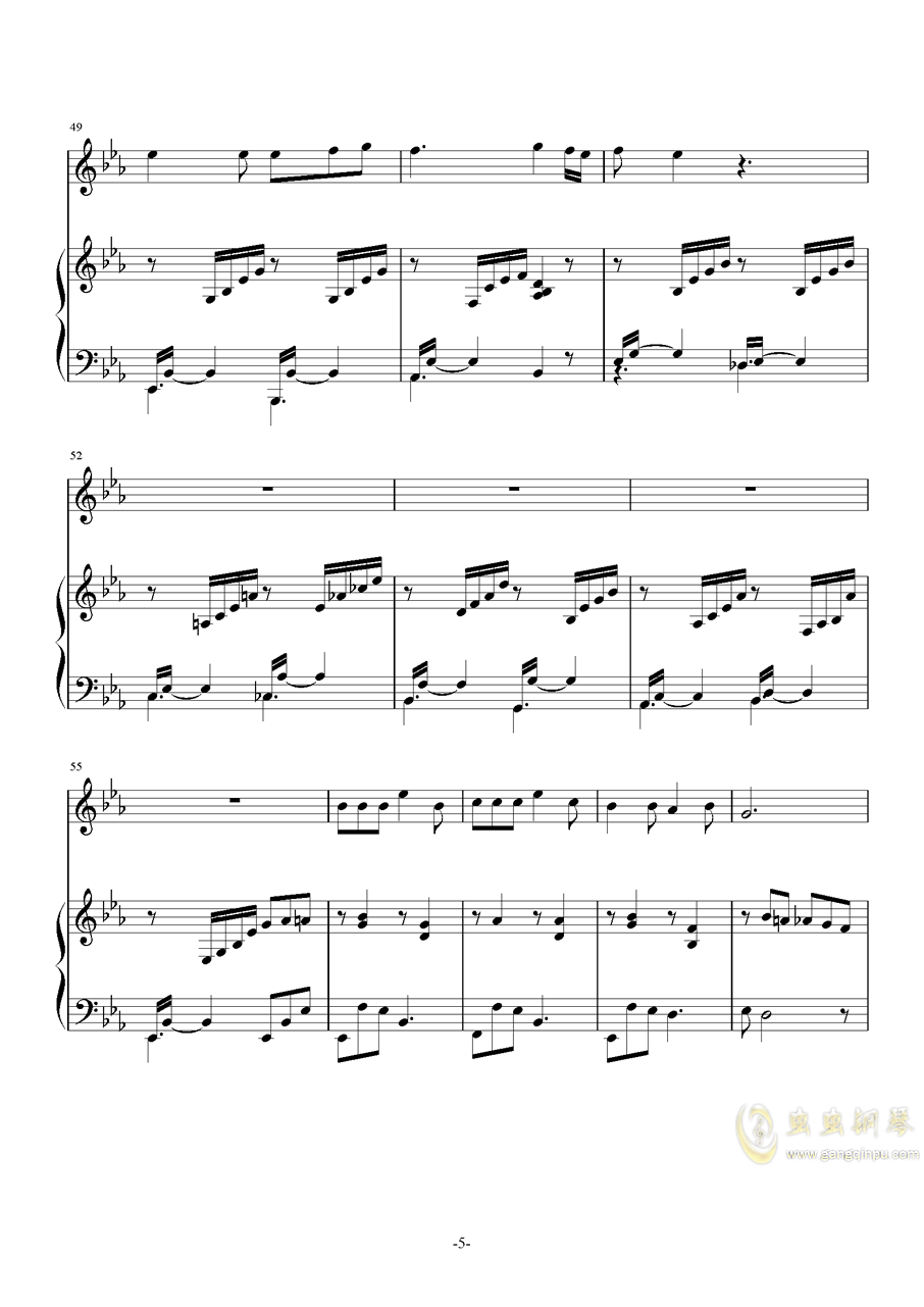 琴巢之歌ag88环亚娱乐谱 第5页