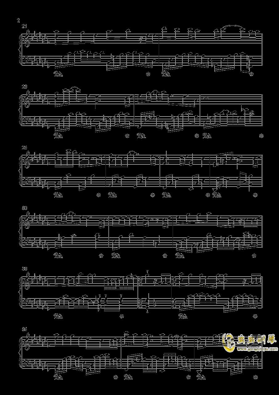 相思夜钢琴谱 第2页