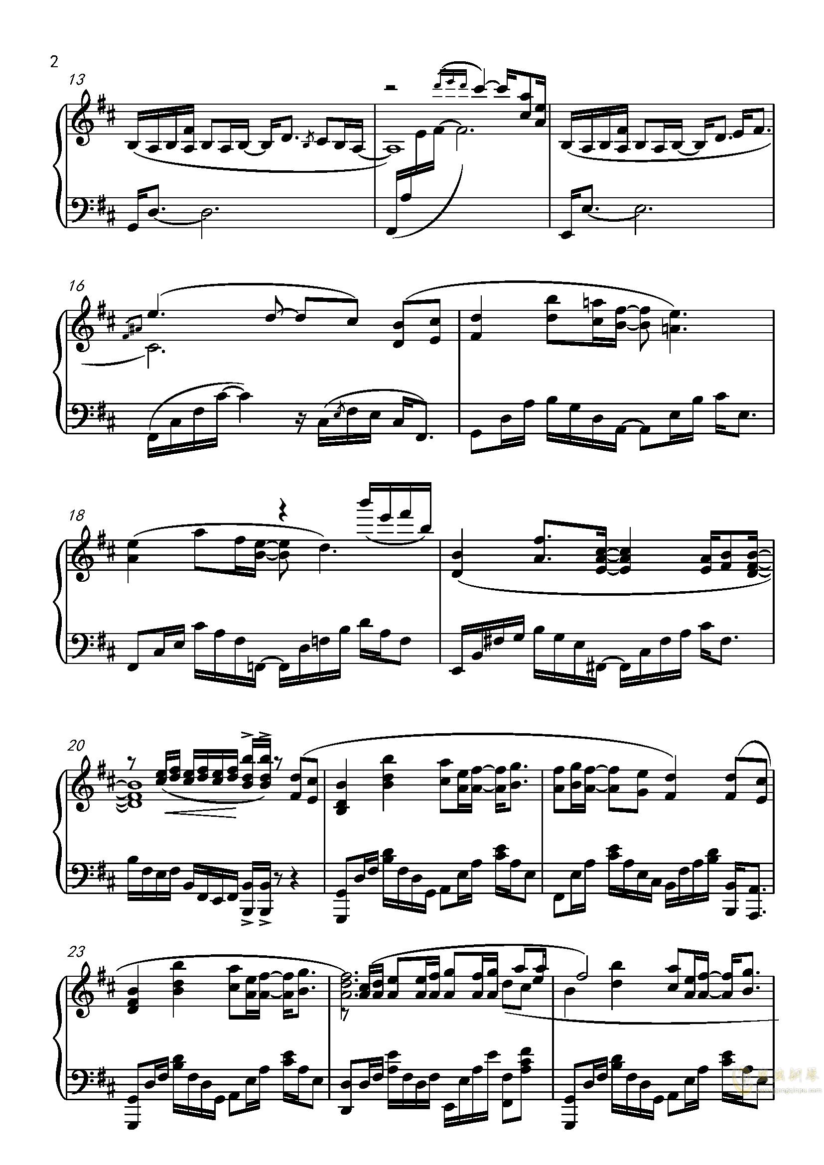 九张机ag88环亚娱乐谱 第2页