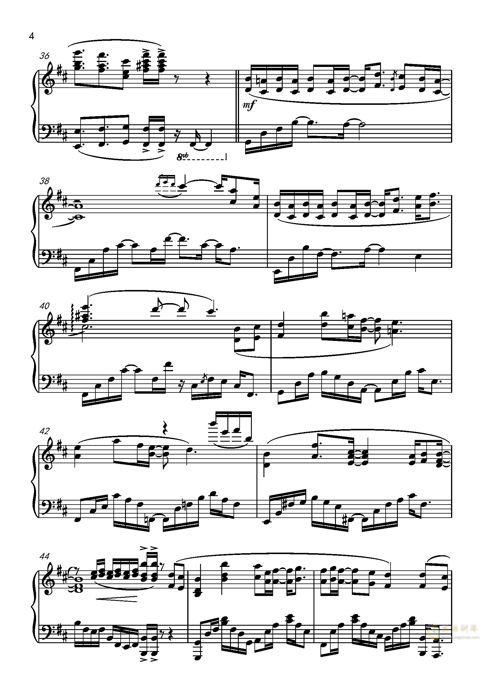 九张机ag88环亚娱乐谱 第4页