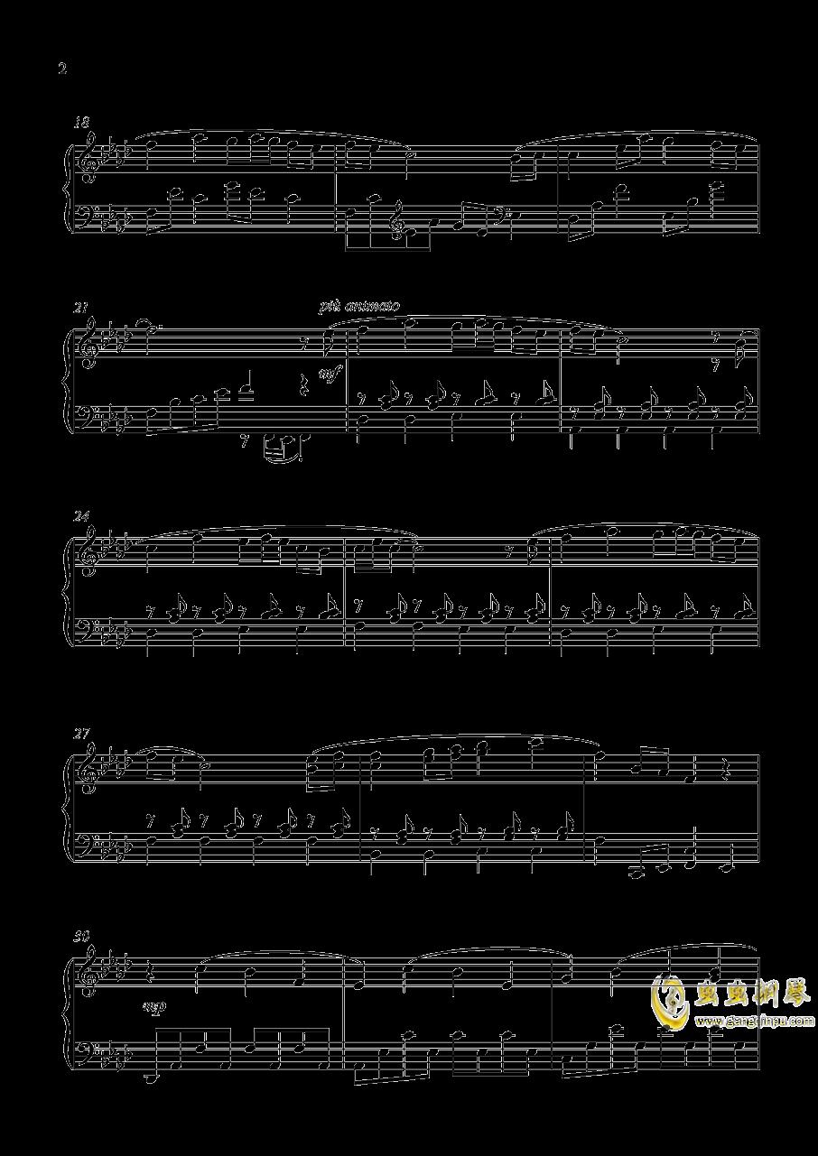 加州清光 近侍曲钢琴谱 第2页