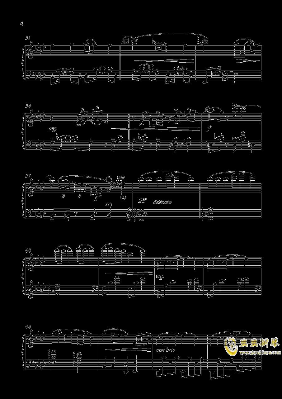 加州清光 近侍曲钢琴谱 第4页