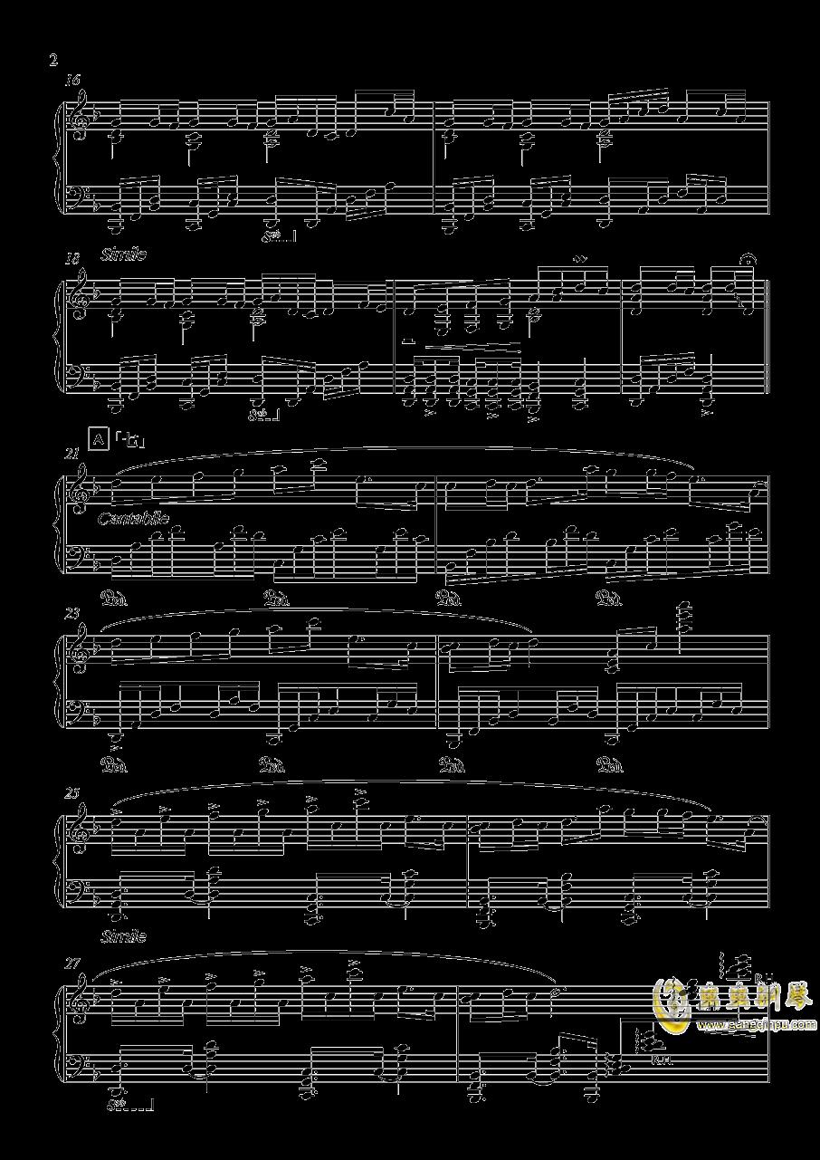 竹之花钢琴谱 第2页