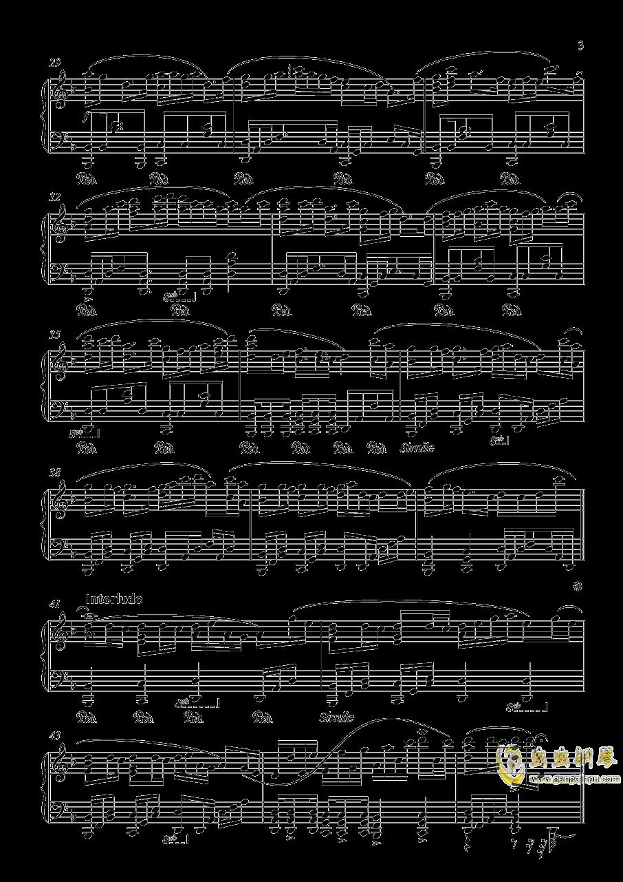 竹之花钢琴谱 第3页
