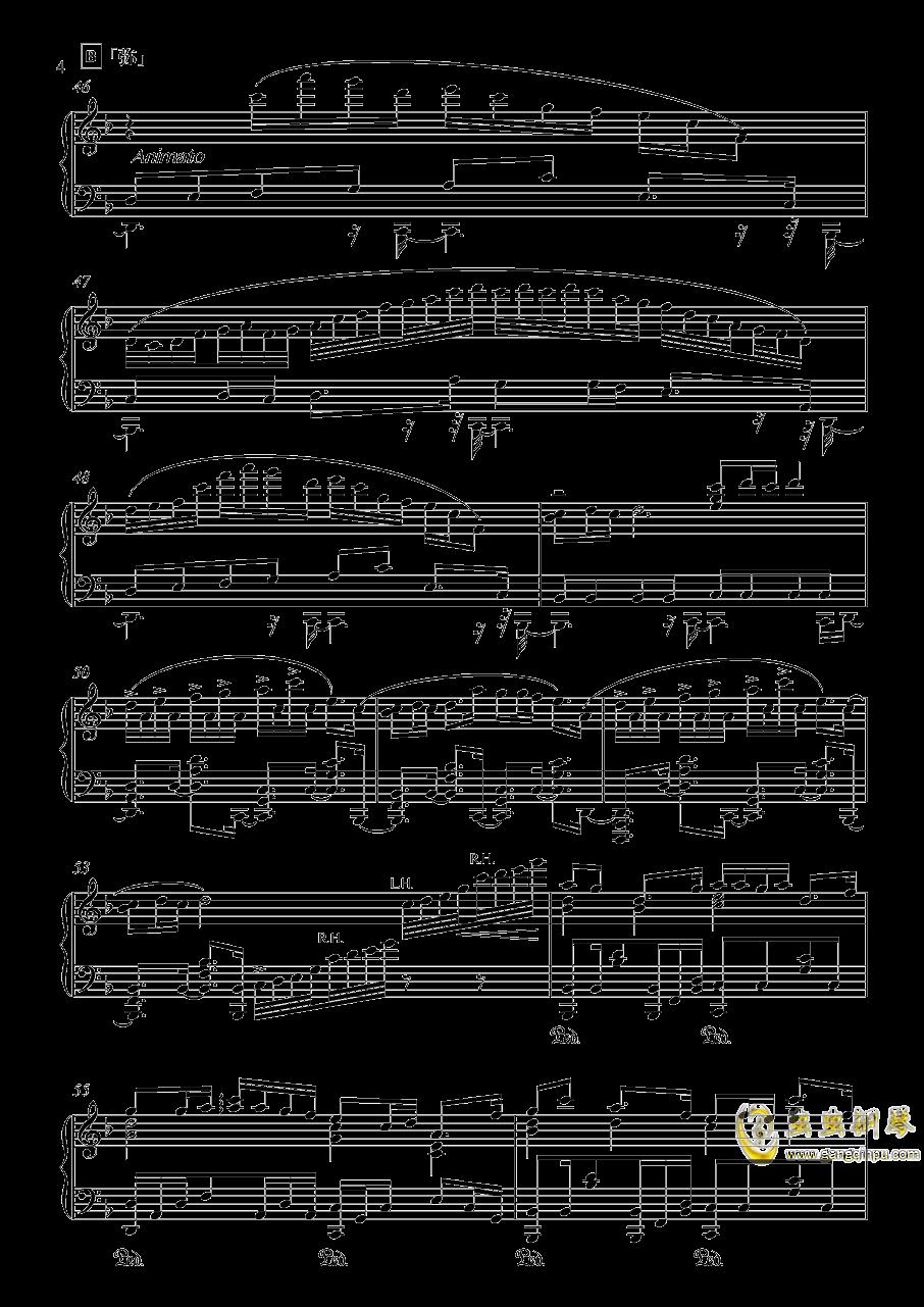 竹之花钢琴谱 第4页