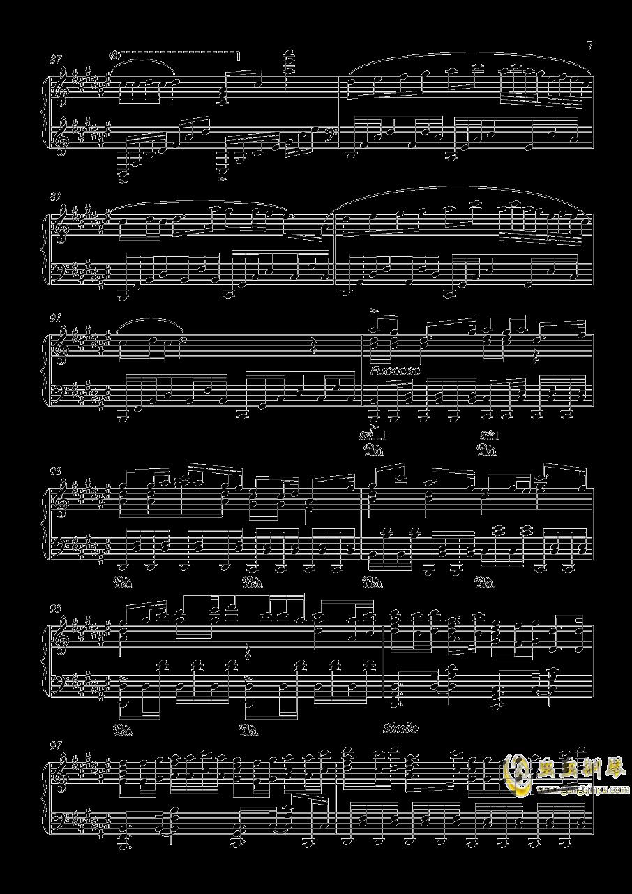 竹之花钢琴谱 第7页