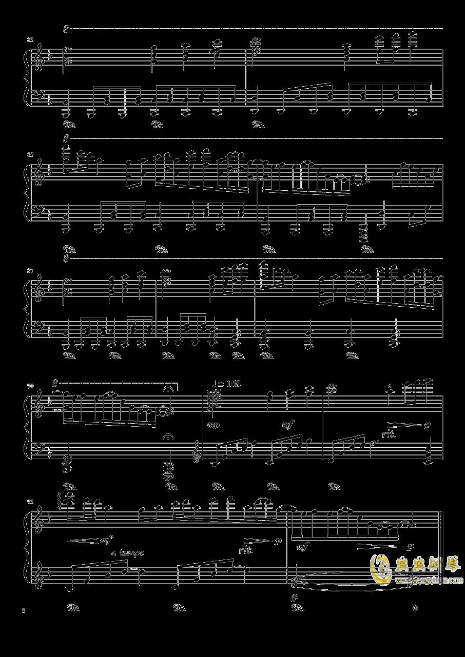 夜が降りてくる ~ Evening Star钢琴谱 第8页