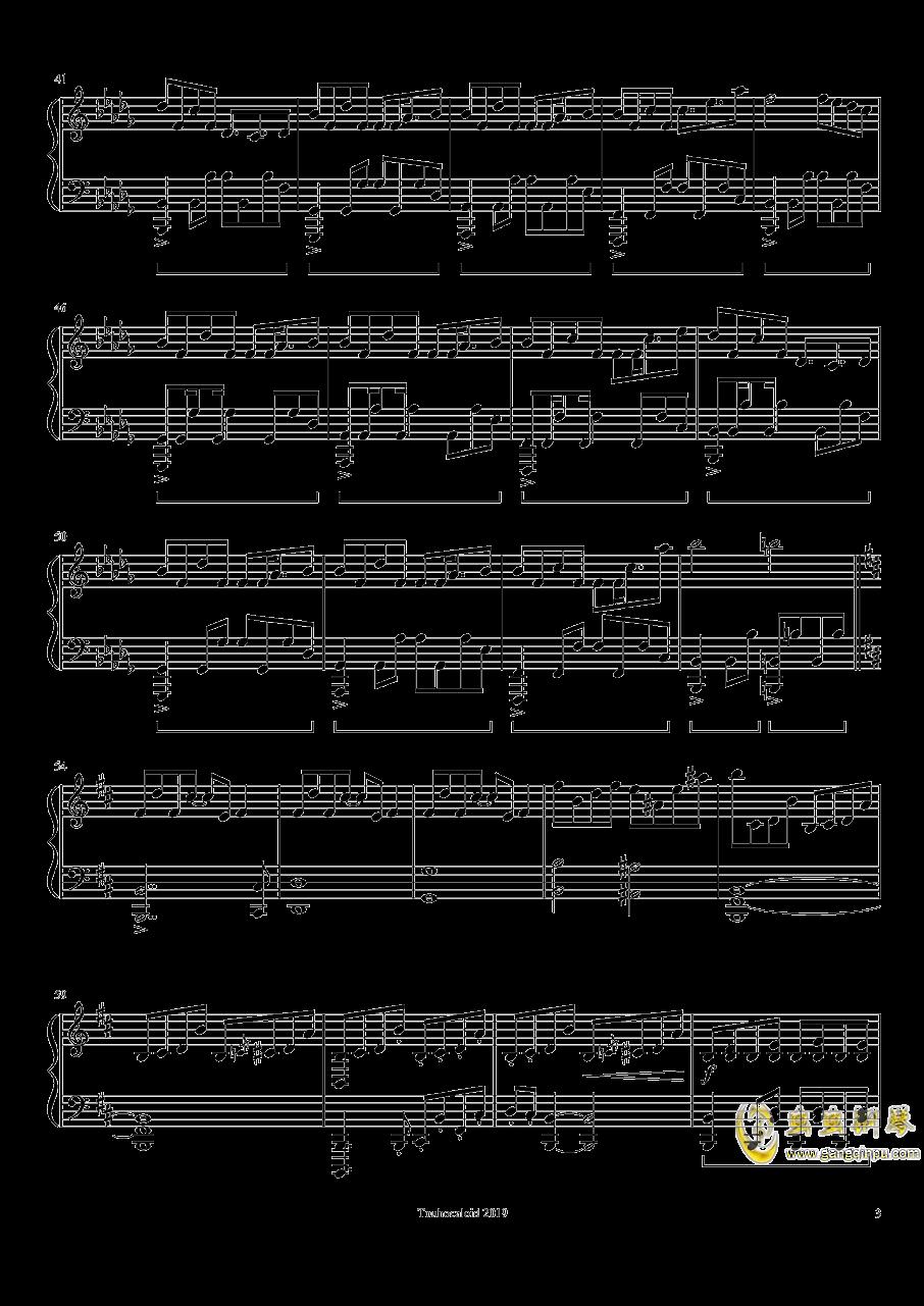 Jelly Stone钢琴谱 第3页