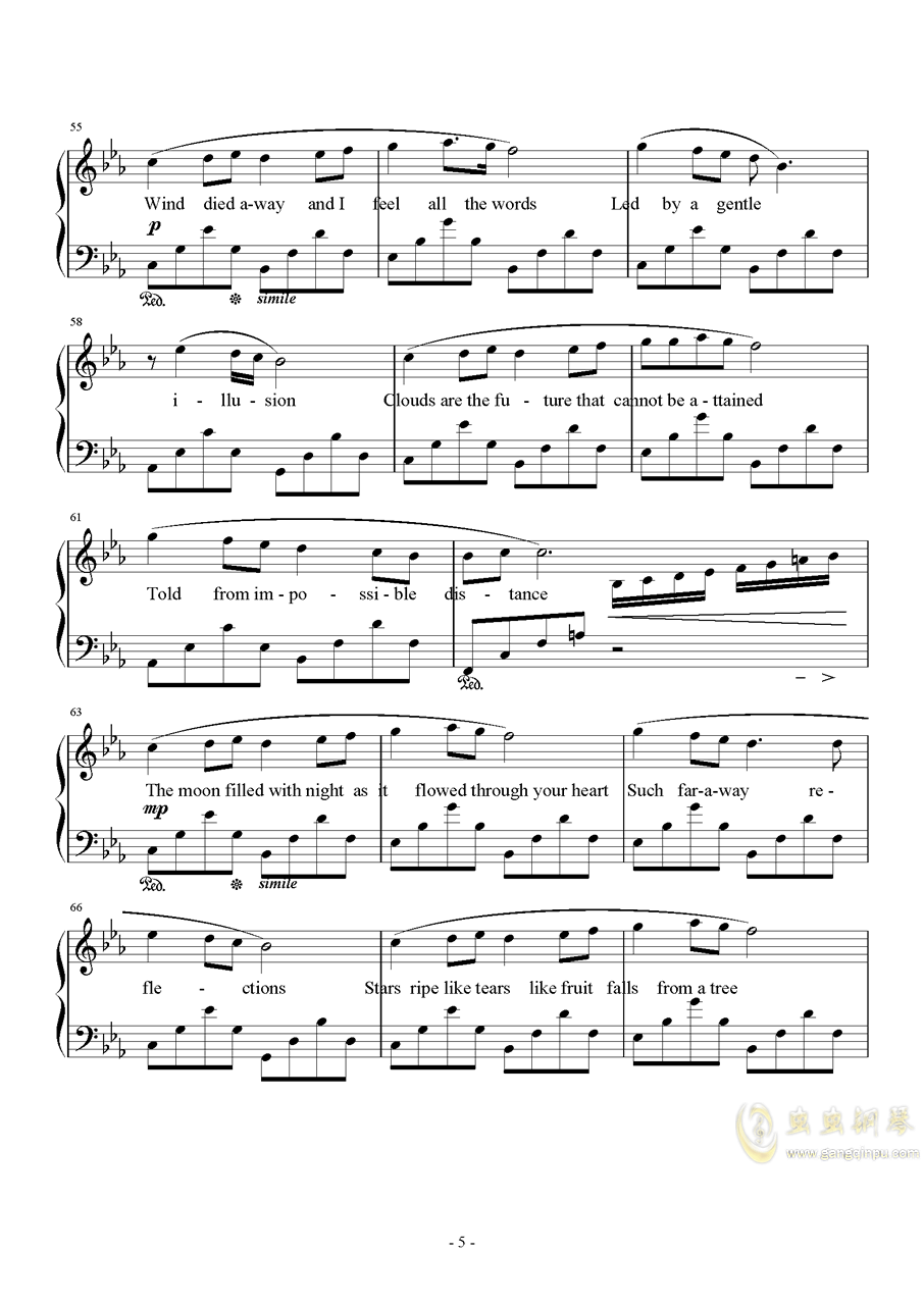 Suteki Da Neag88环亚娱乐谱 第5页
