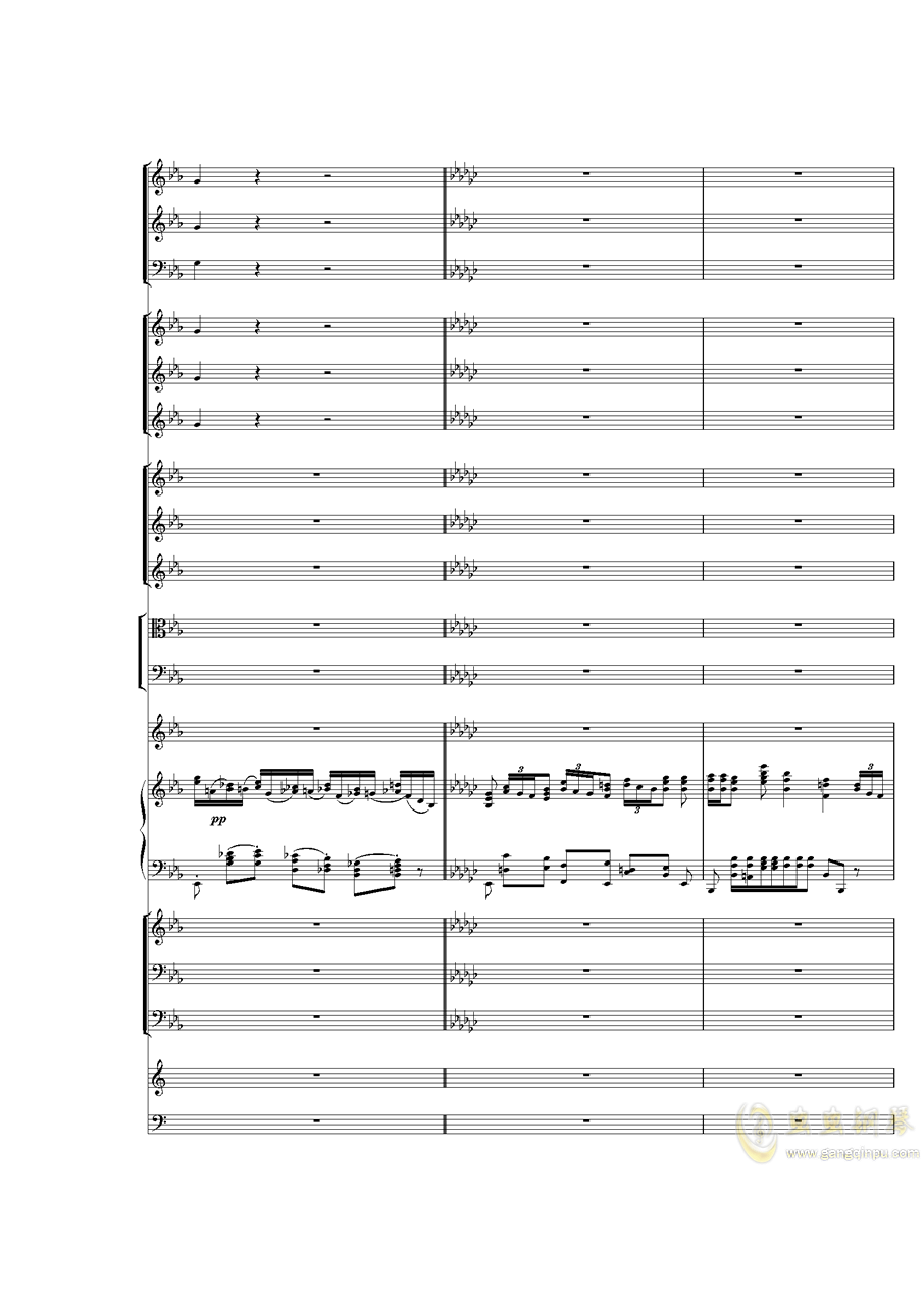 Piano Concerto No.3 in E Flat minor,I.�琴�V 第12�