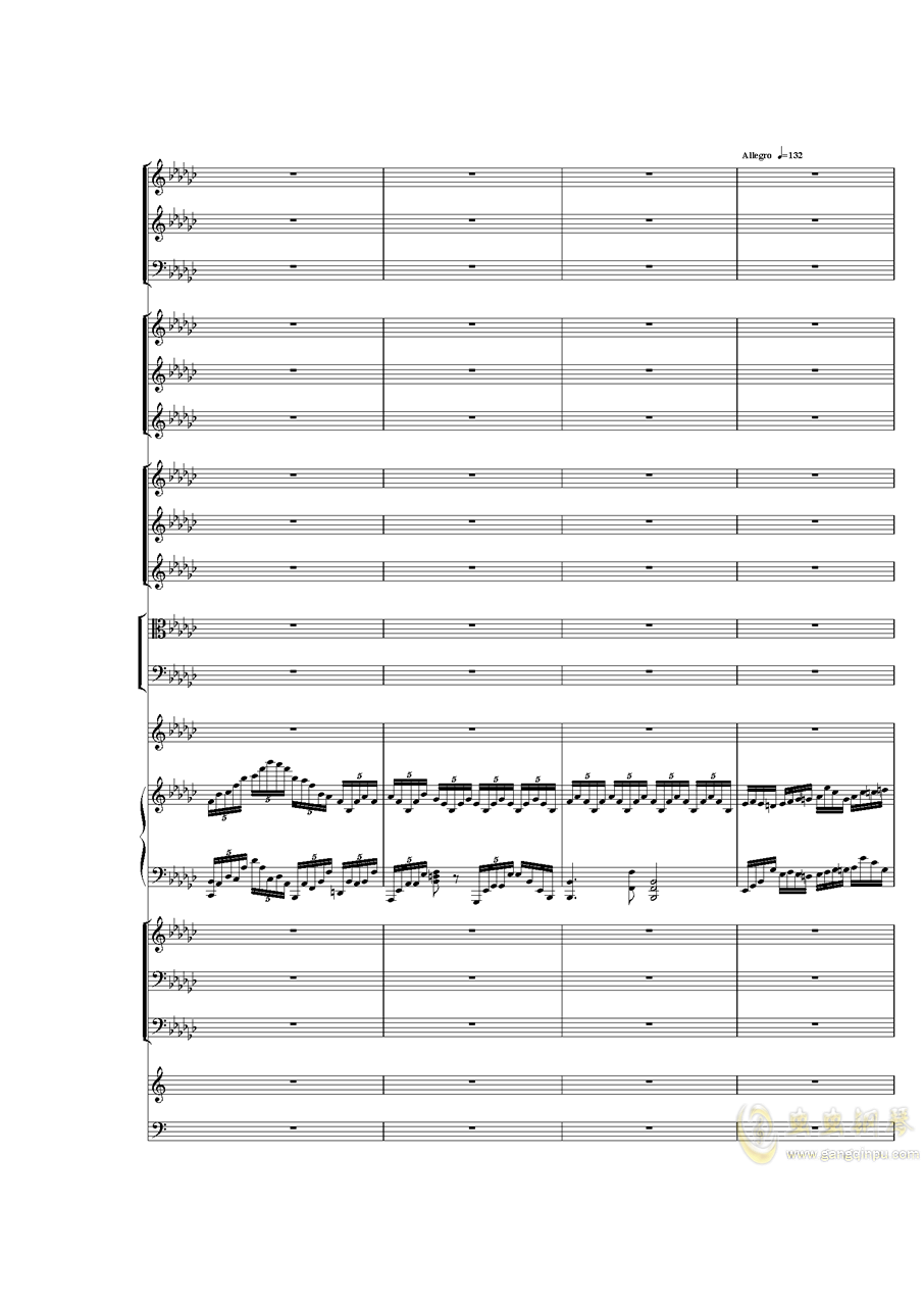 Piano Concerto No.3 in E Flat minor,I.�琴�V 第15�