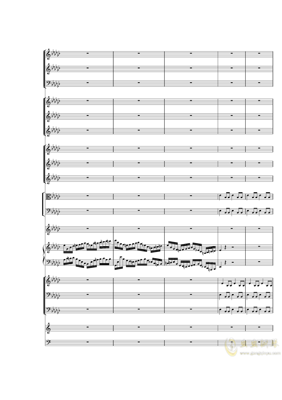 Piano Concerto No.3 in E Flat minor,I.�琴�V 第17�