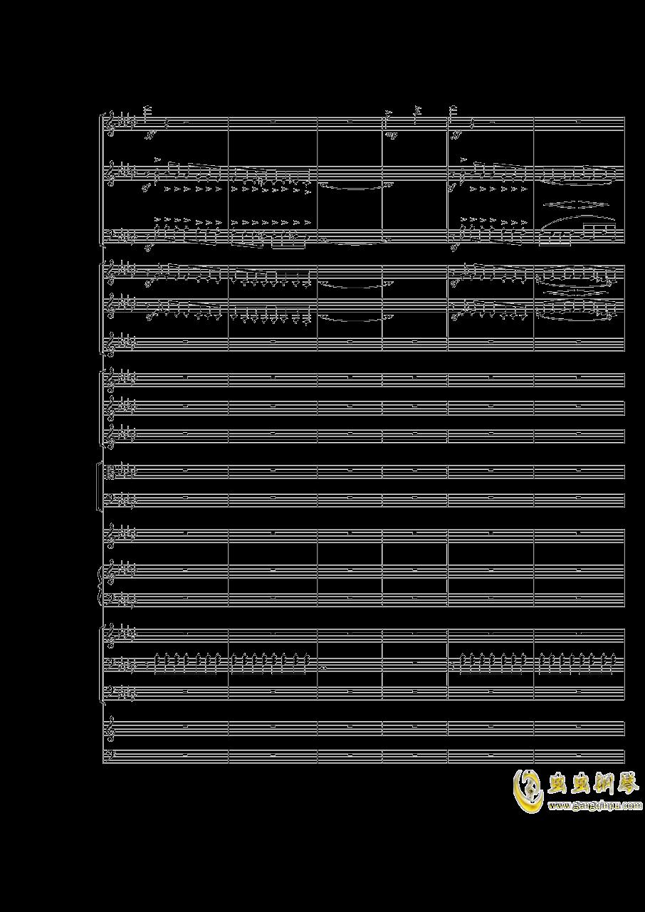 Piano Concerto No.3 in E Flat minor,I.ag88环亚娱乐谱 第2页