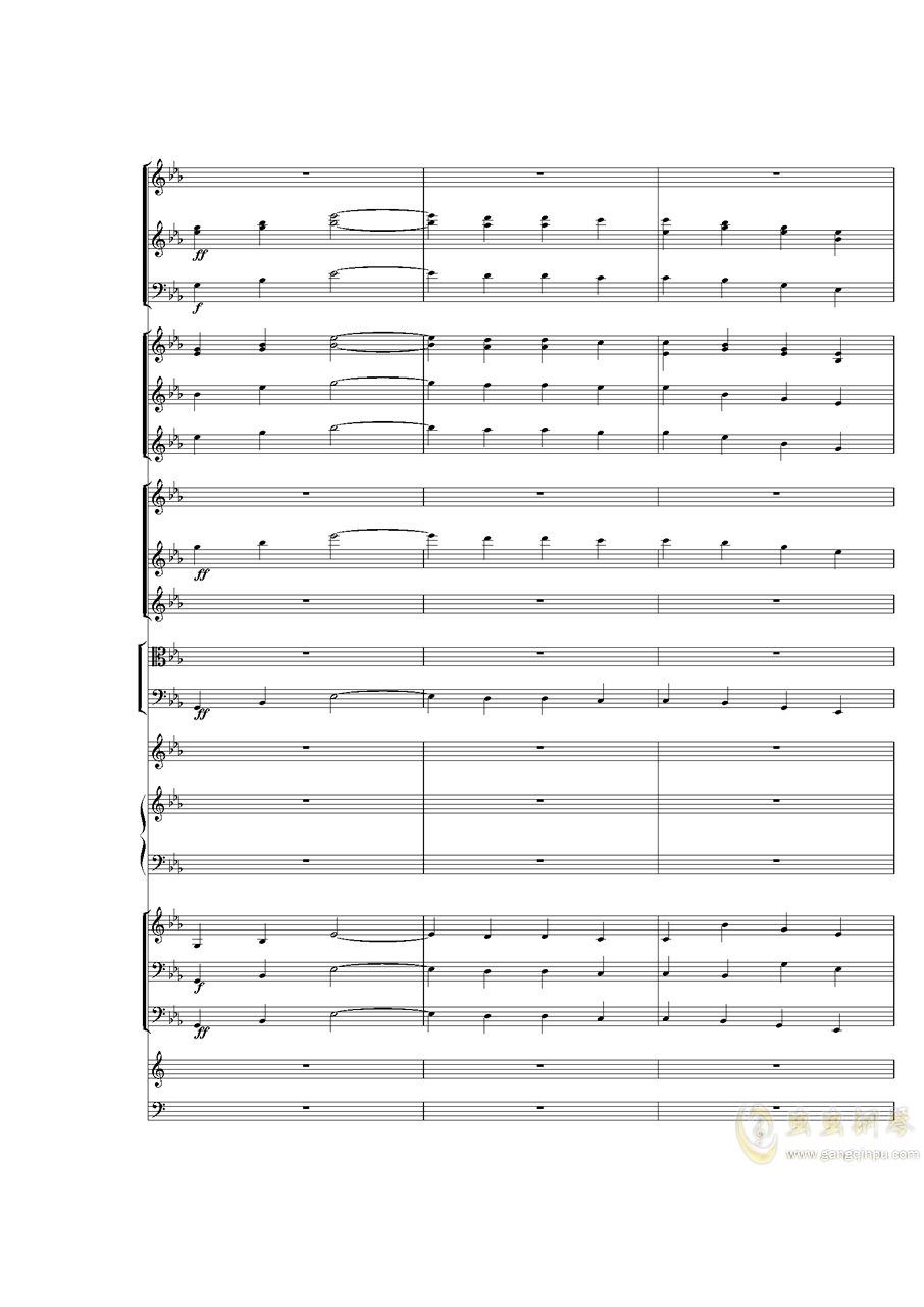 Piano Concerto No.3 in E Flat minor,I.�琴�V 第26�
