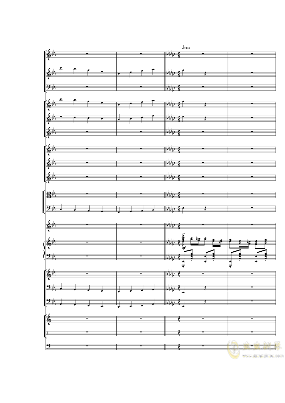Piano Concerto No.3 in E Flat minor,I.�琴�V 第28�