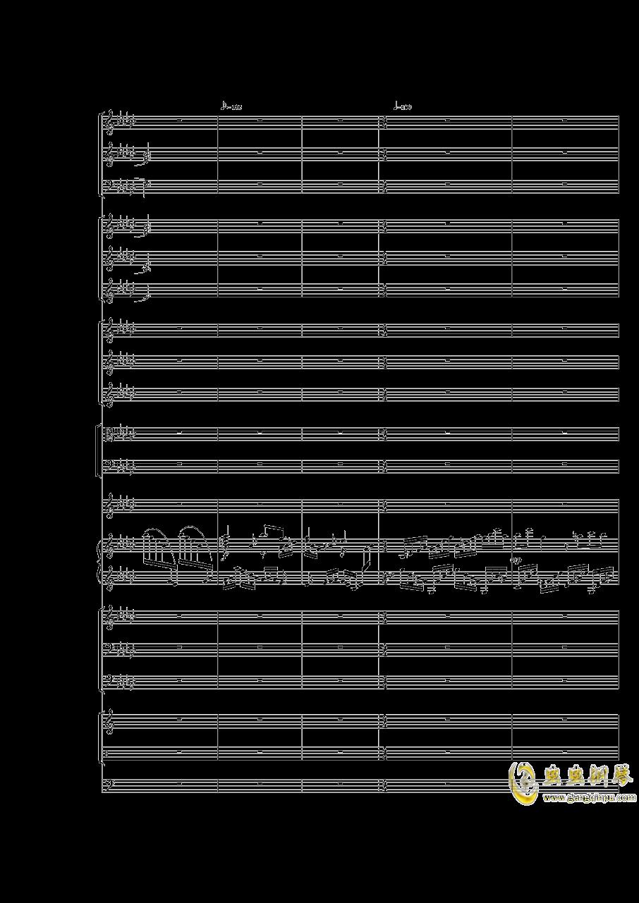 Piano Concerto No.3 in E Flat minor,I.ag88环亚娱乐谱 第35页