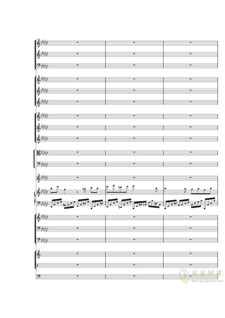 Piano Concerto No.3 in E Flat minor,I.�琴�V 第36�