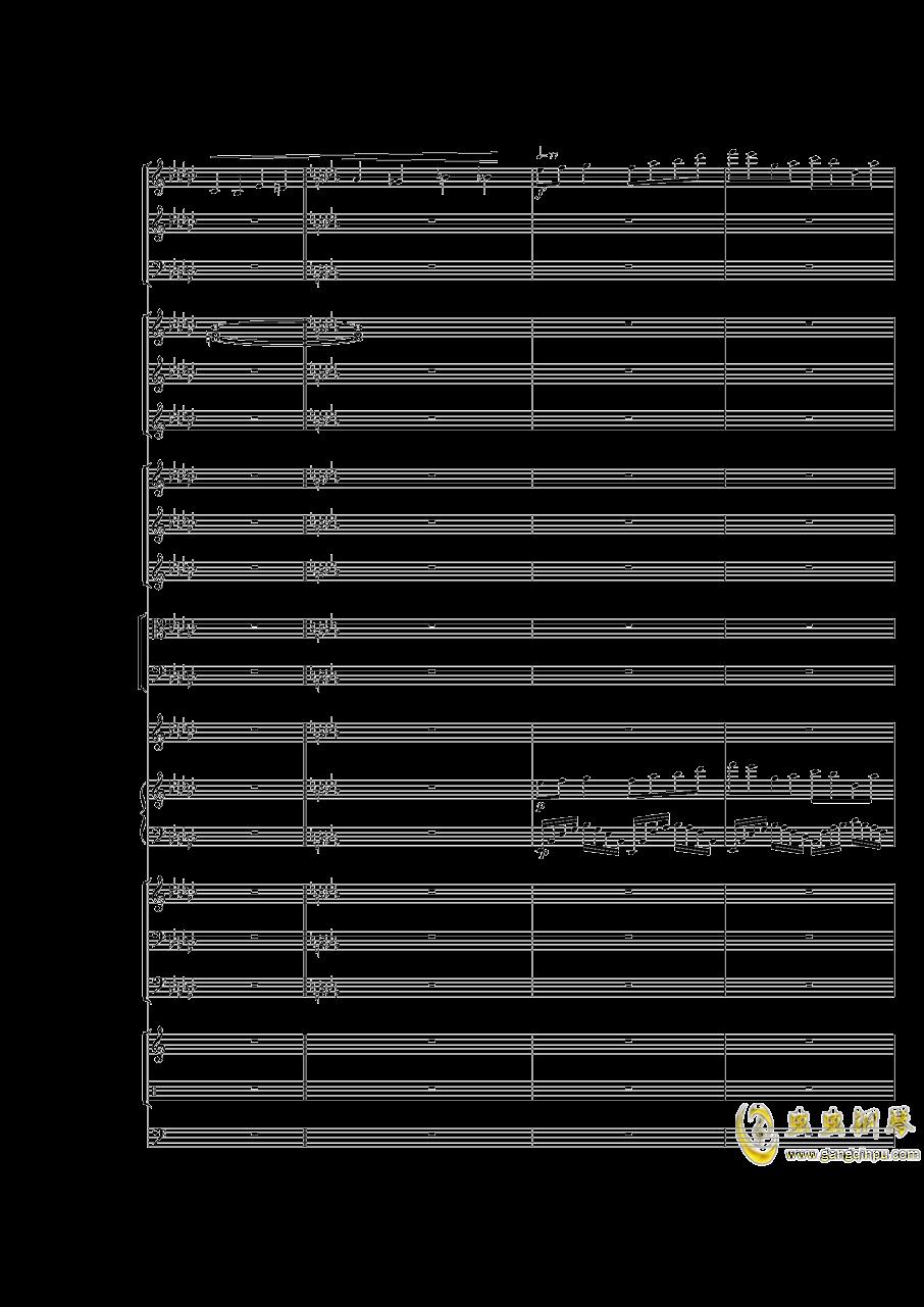 Piano Concerto No.3 in E Flat minor,I.ag88环亚娱乐谱 第45页