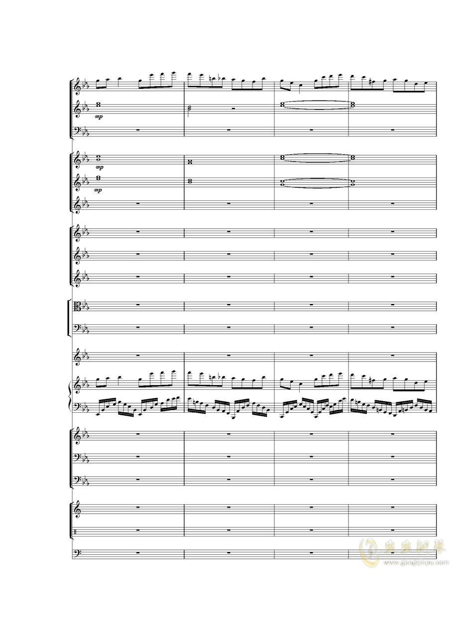 Piano Concerto No.3 in E Flat minor,I.�琴�V 第46�