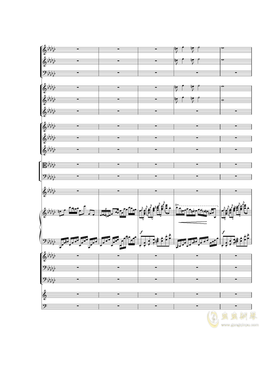 Piano Concerto No.3 in E Flat minor,I.�琴�V 第7�