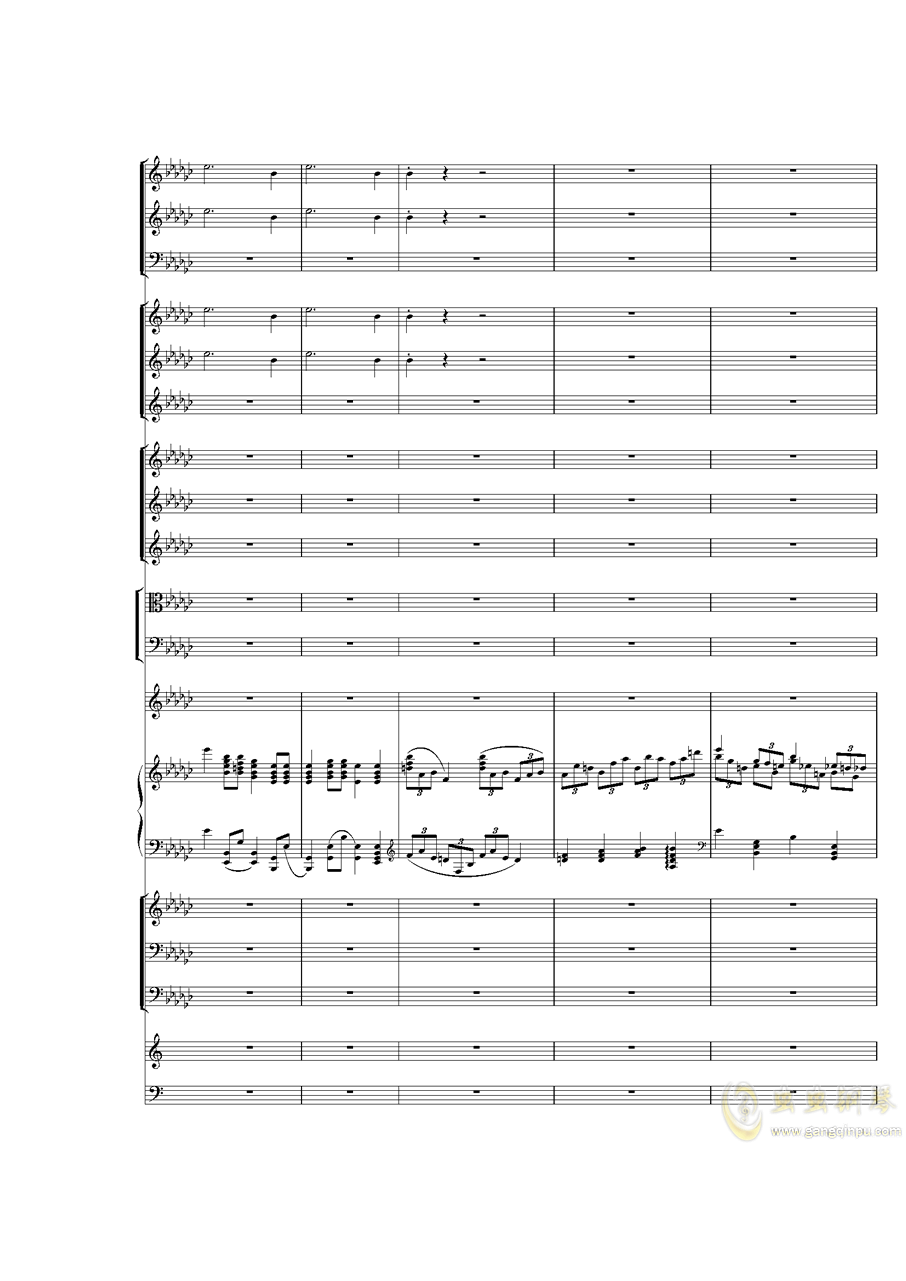 Piano Concerto No.3 in E Flat minor,I.�琴�V 第9�