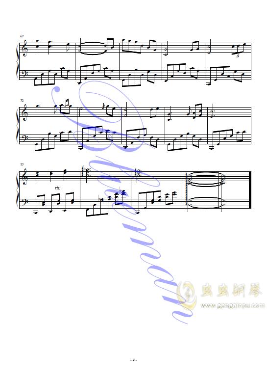 初恋的地方ag88环亚娱乐谱 第4页