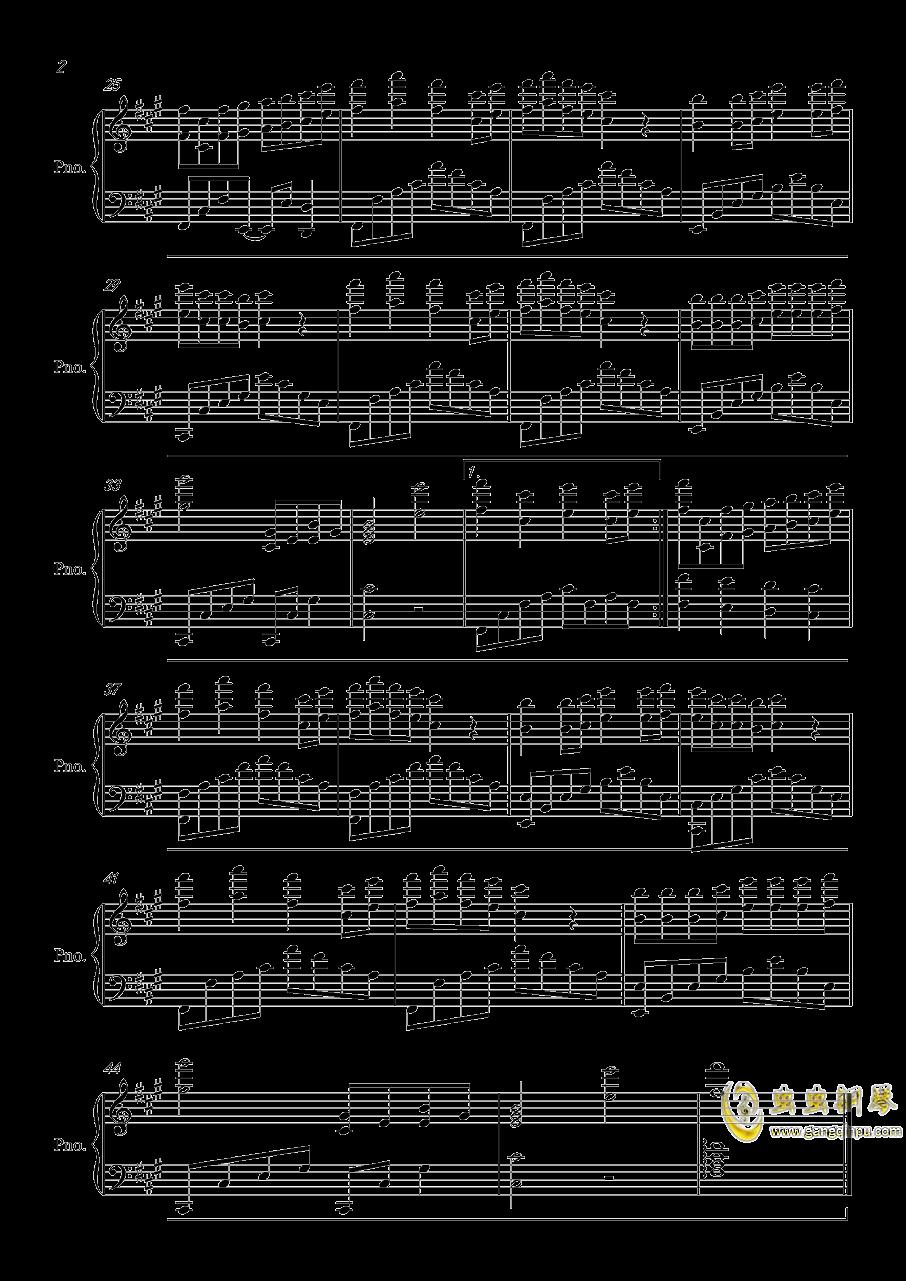 精忠报国钢琴谱 第2页
