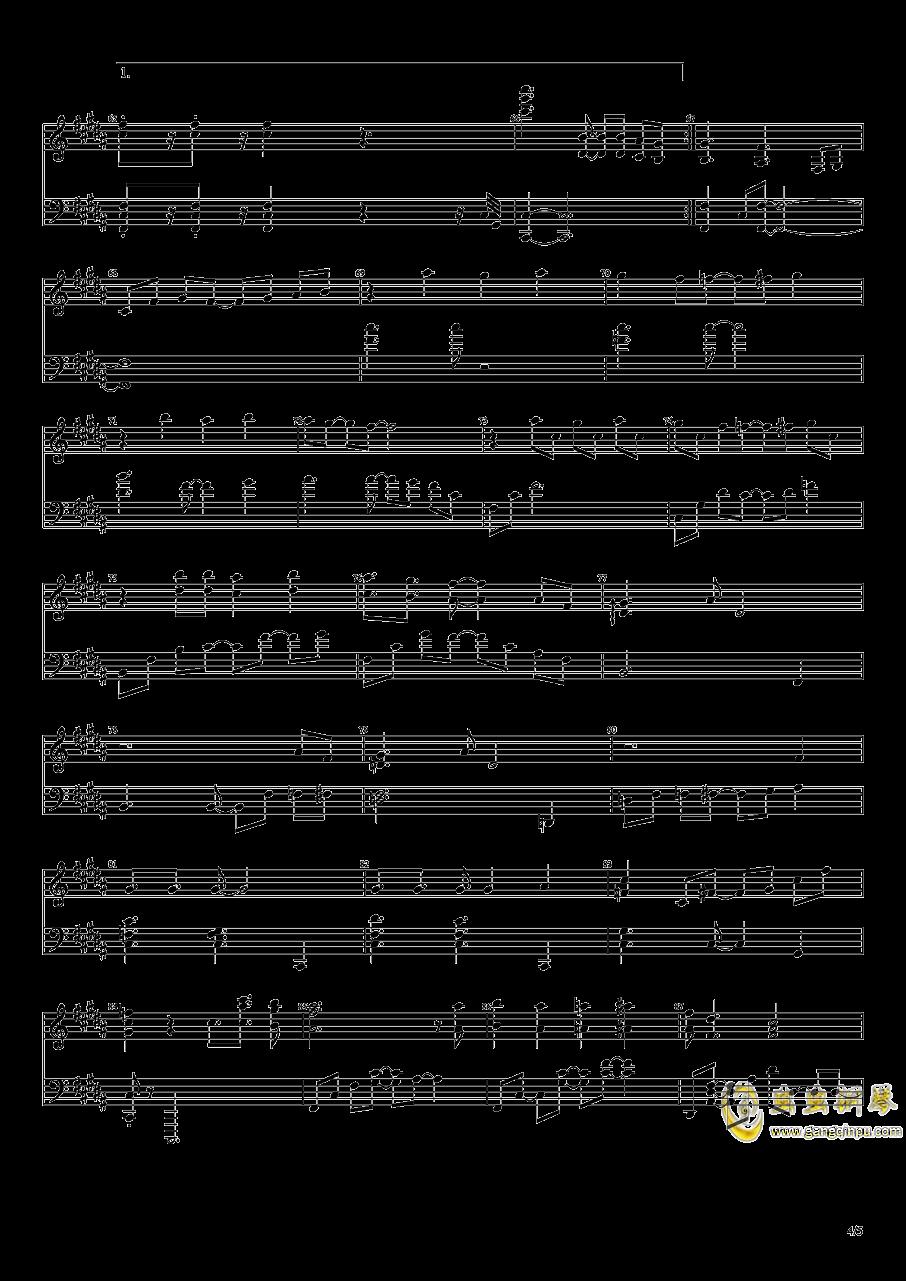 秋之回忆钢琴谱 第4页