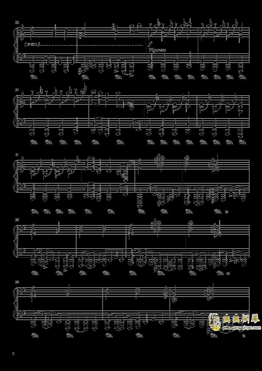 始原のビ�`ト钢琴谱 第2页