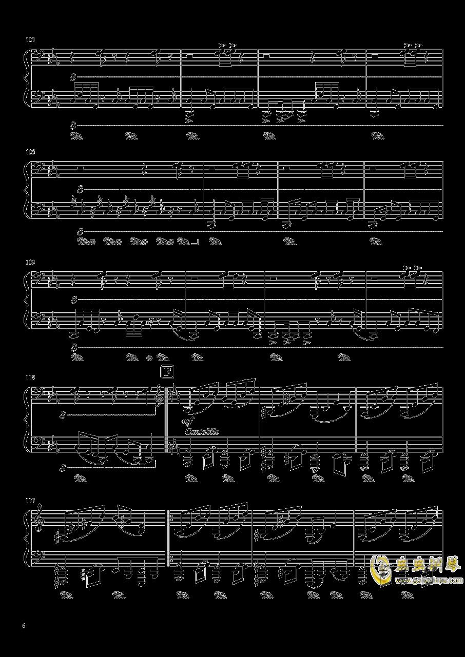 始原のビ�`ト钢琴谱 第6页