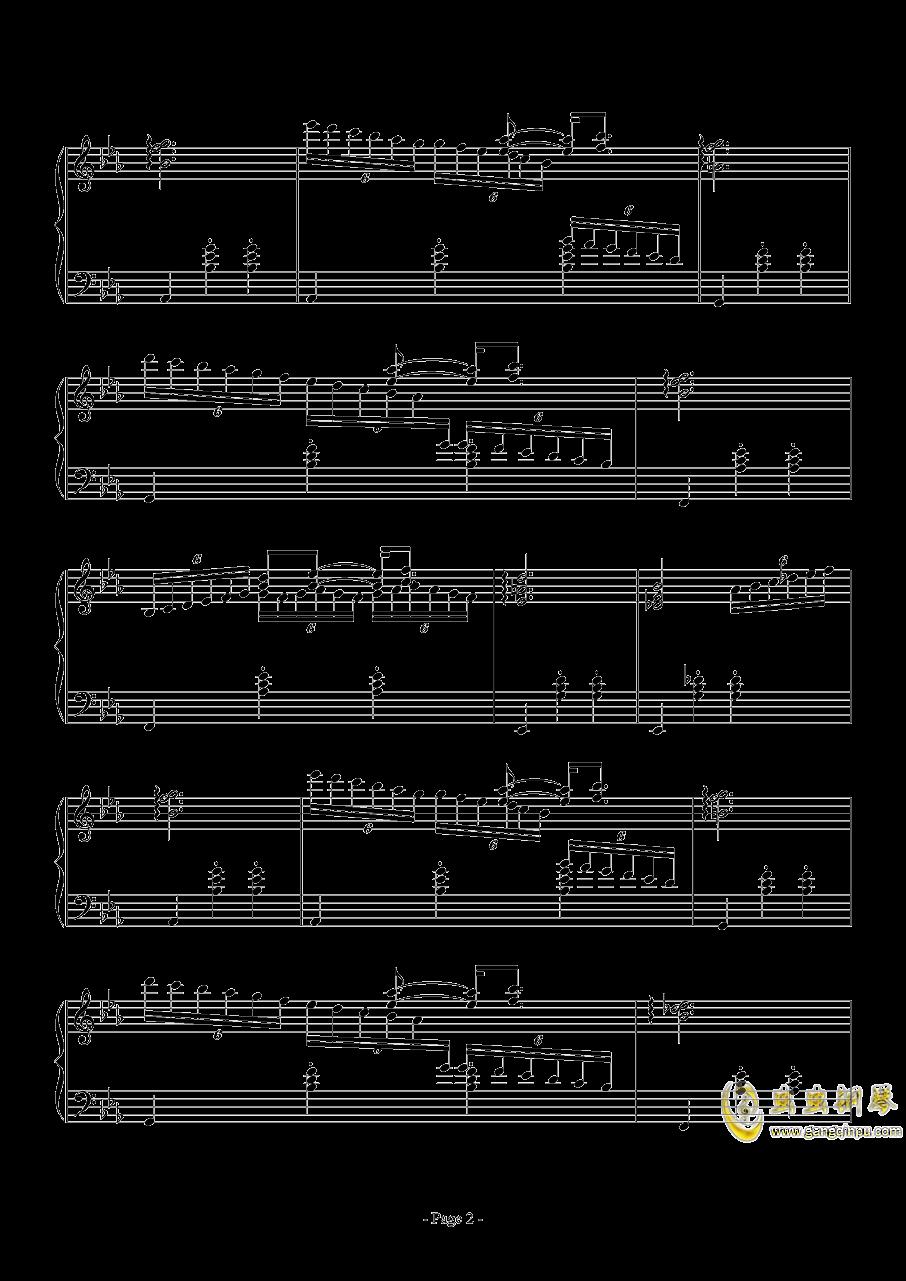消遣钢琴谱 第2页
