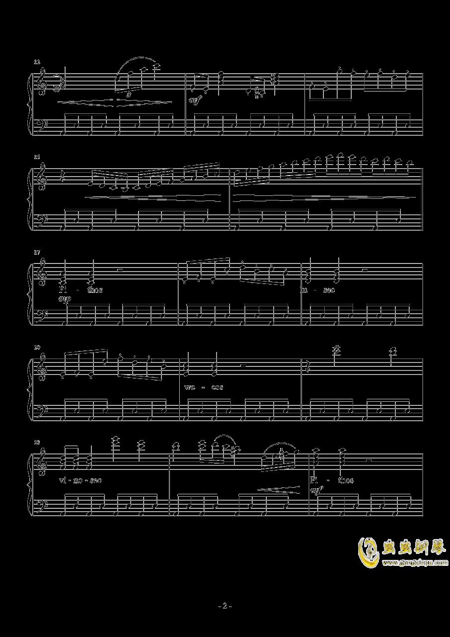 Liberi Fatali钢琴谱 第2页